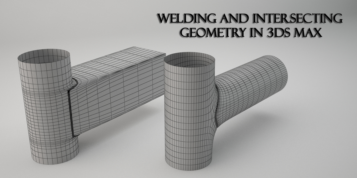 Creating Welding and modeling with OpenSubDiv in 3ds Max